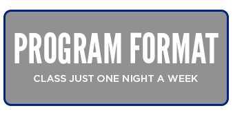Program Format - Class Just One Night A Week