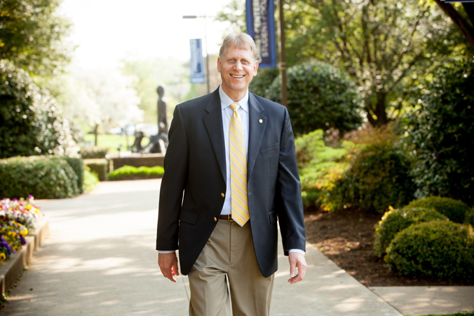Southern Wesleyan University President Dr. Todd Voss